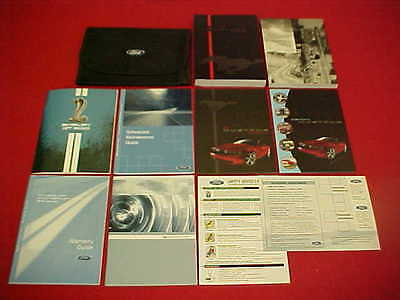 2010 New Mustang Cobra Shelby Gt500 Gt 500 Original Owners Manual Service 10