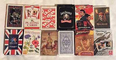 12 packs of vintage & modern Playing Cards Job Lot New & unused with Jokers