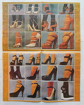 Custom Shoe Co Design Your Own High Heel Ad Poster [17x22] (1970s)