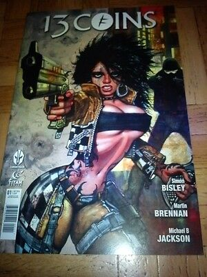 Comics 13 coins #1 (first edition) Simon Bisley