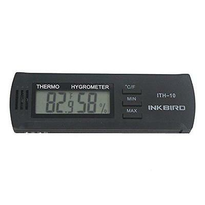 Inkbird Dc 3V Input Digital Thermometer & Humidity Meter Hygrometer ITH-10 New