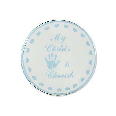 Child to Cherish My Child's Handprint To Cherish in Blue New