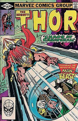 THOR # 317  MARVEL COMICS  1982  vf-
