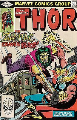 THOR # 319  MARVEL COMICS  1982  vf