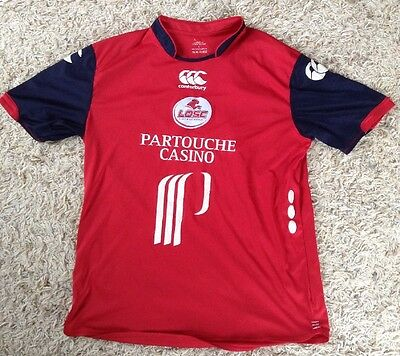 Lille Metropole 2008 Home Football Shirt - Large Adult Soccer Jersey