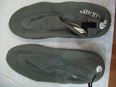 Men's Size 12 Cudas Gray Water Shoes