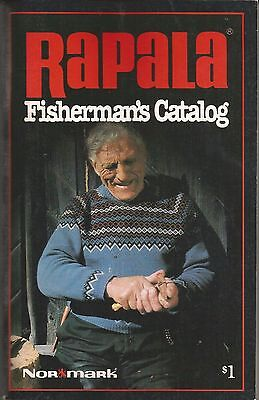 Rapala Fisherman's Catalog / products and techniques / 1980 / softbound