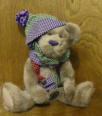 """Boyds Plush #900216 Roberto, 14"""" NEW/Tag From Retail Store Jointed Bear"""