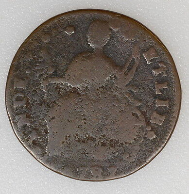 1787 CONNECTICUT COLONIAL 1c CENT. READABLE DATE W/MAJOR FEATURES  - I-5774