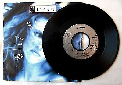 """T'pau.  I Will Be With You.   1988 Siren. 7"""" Vinyl"""