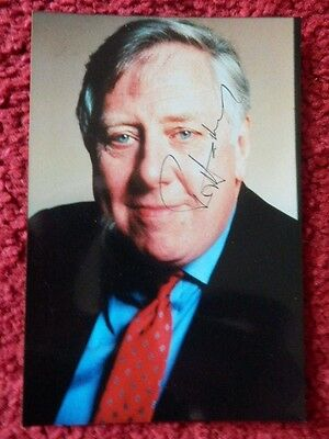 Roy Hattersley Autographed Photo
