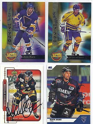 City Press #12 Martin Jiranek Nurenbeerg DEL Signed Hockey Card