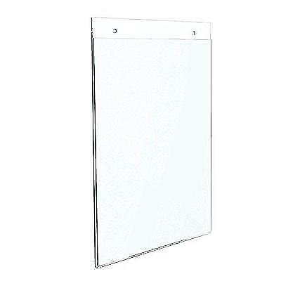 Dazzling Displays 10-pack Acrylic 8.5 x 11 Wall Mount Sign Holders New