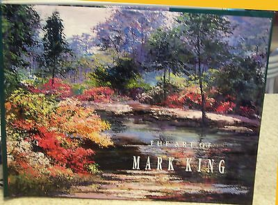The Art Of Mark King (1990) Hardcover Book - First Edition
