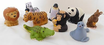 Fisher Price Little People Zoo Animal Friends Complete Set Of 9