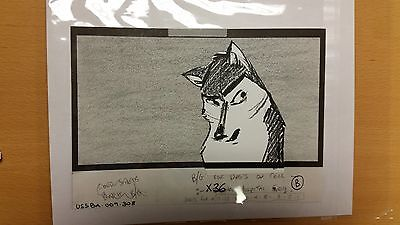 Balto Animated Film - Storyboard - Balto -USSBA.009.308