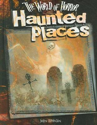 Haunted Places by John Hamilton (English) Library Binding Book Free Shipping!