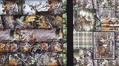 """Sidelights Realtree Wildlife Quilt Kit 48.5"""" X 62.5"""""""