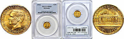 1916 McKinley $1 Gold Commemorative PCGS MS-64