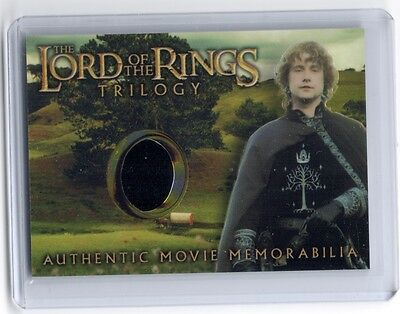 LOTR Lord Of The Rings Trilogy chrome Pippin's Gondorian Tunic costume card #7