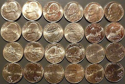 1965-2017 Jefferson Nickel Choice/Gem Uncirculated Complete Date/MM Set 107 pcs.