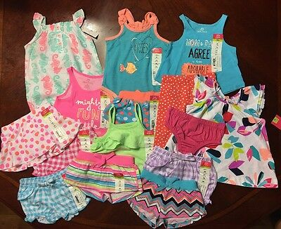 NWT Adorable Baby Girl Spring/Summer CLOTHES LOT Outfit Sets 3 Months Lot # 6