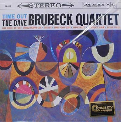 """Dave Brubeck  - Columbia - Quality Records - Apj-8192 - 33Rpm  - """"time Out"""""""