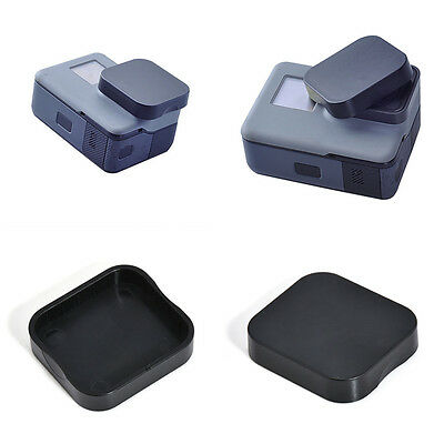 Black Protective Lens Protector Cover Lens Cap For Gopro Hero 5 action Camera