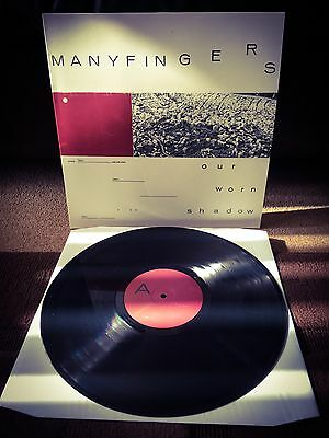 MANYFINGERS Our Worn Shadow LP VINYL 250 Copies ONLY Chris Cole