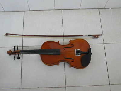 1X New 4/4 Violin with Carry Case,Bow
