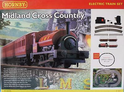 New Empty Hornby R1027 Lms Midland Cross Country Train Set Box Empty Box