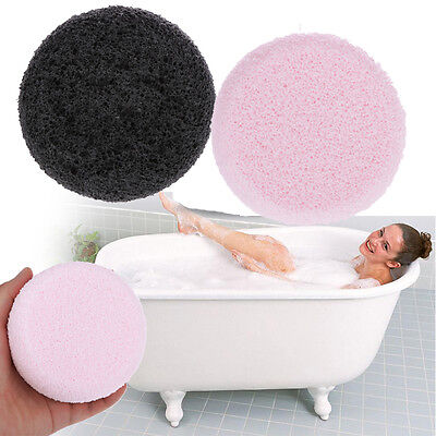 Thicken Bamboo Bath Ball Shower Massager Sponge Face Skin Wash Cleaning Scrubber