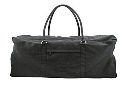 Yoga Madf Pilates Kit Bag Soft Cotton Organic Black RRP £21.99 *BNWT*