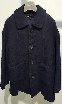 comme des garcons boiled wool jacket