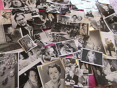 Collection 50 Photographs, Various, Great Mix. Ex. Condition. Film Stars.