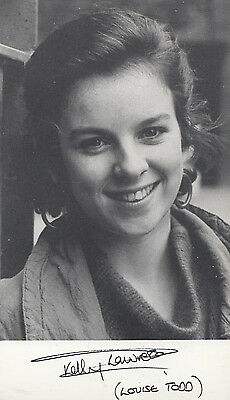 Kelly Lawrence Louise Todd Albion Market Vintage Printed Signed Photo Cast Card