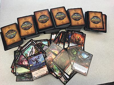 World Of Warcraft Trading Cards 600+ Cards.