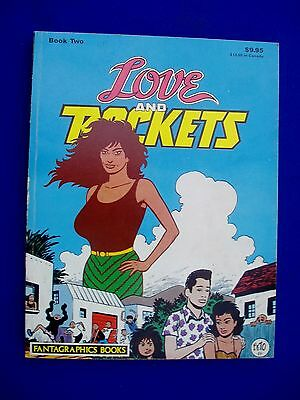 Love & Rockets Collected book 2. Paperback Fantagraphics  1986 (First edition)
