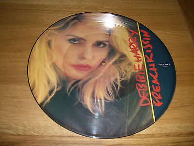 """Debbie Harry-French kissin.12"""" picture disc.blondie"""