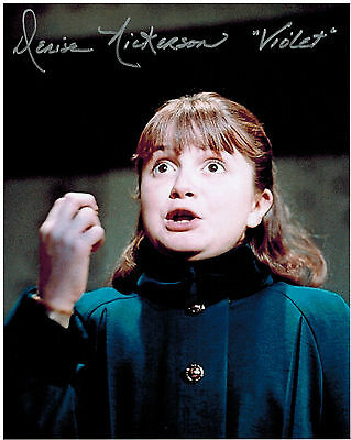 DENISE NICKERSON Willy Wonka Violet Original Hand Signed Autograph 8x10 Photo