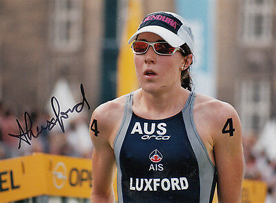 Triathlon - Weltmeisterin ANNABEL LUXFORD   **sign**