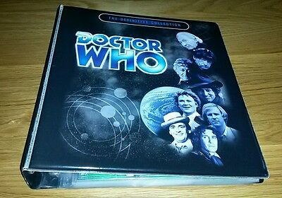 Doctor Who Definitive Seties 3 Trading Cards Master Set in Official Binder