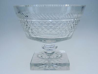 Waterford Cut Crystal Centerpiece Pedestal/footed Bowl