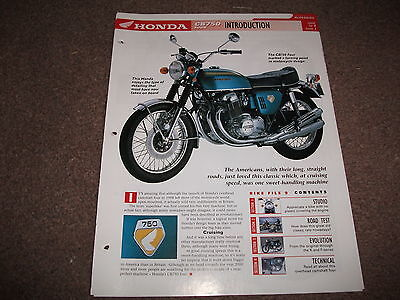 HONDA CB750 four the complete data/fact file from essential superbikes