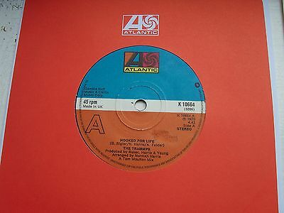 The Trammps, Hooked For Life / It's Alright. Original 1975 Single On Atlantic