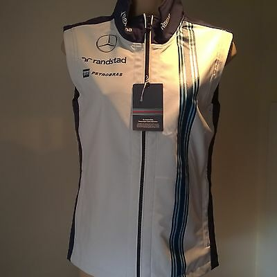 Williams Racing Gillet F1 Formula 1 Pit Clothing Hackett Size Adult S