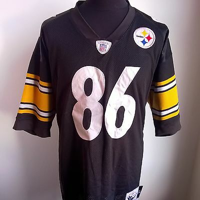 Pittsburgh Steelers Nfl Football Shirt #86 Ward Mitchell & Ness Size Adult L
