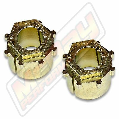 Extreme Camber Caster Alignment Bushing Set 1980-1996 Ford F150 Bronco Kit Lift