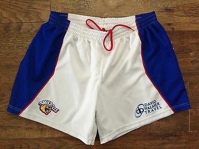 """Mens Wakefield Wildcats rugby league shorts size XXL W40-42"""""""