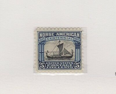 US 621 5c Norse-American issue 1925, hinged
